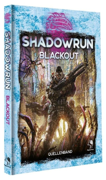 SHADOWRUN 6: Blackout (Hardcover) - DE