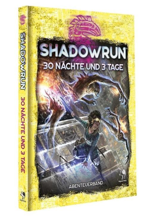 SHADOWRUN 6: 30 Nächte und 3 Tage (Hardcover) - DE