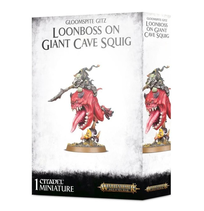 AOS: Loonboss On Giant Cave Squig