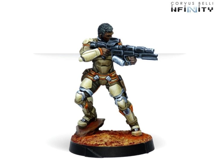 INFINITY: Namurr Active Response Unit (Spitfire)
