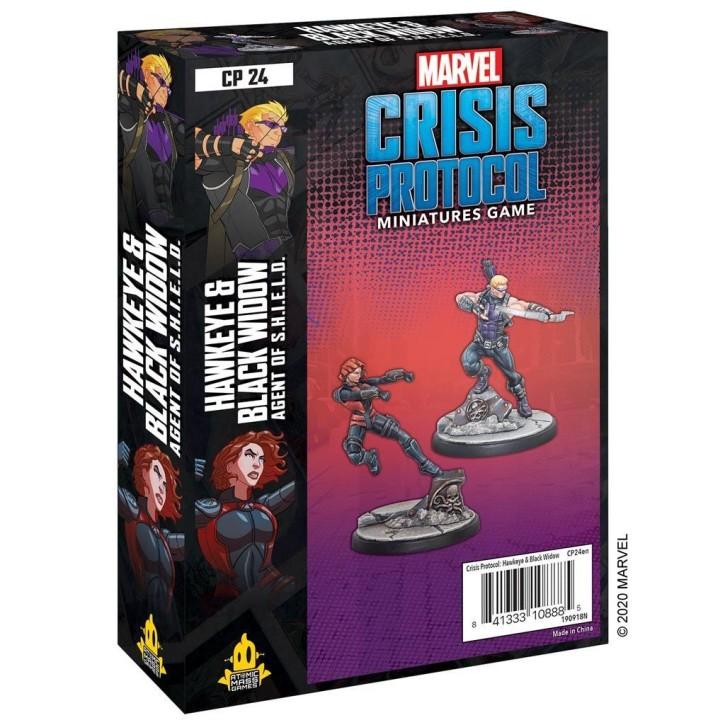 MARVEL CRISIS: Hawkeye and Black Widow - EN