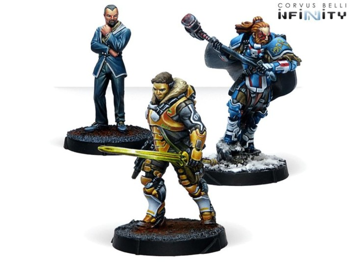 INFINITY: Dire Foes Mission Pack Alpha: Retaliation box