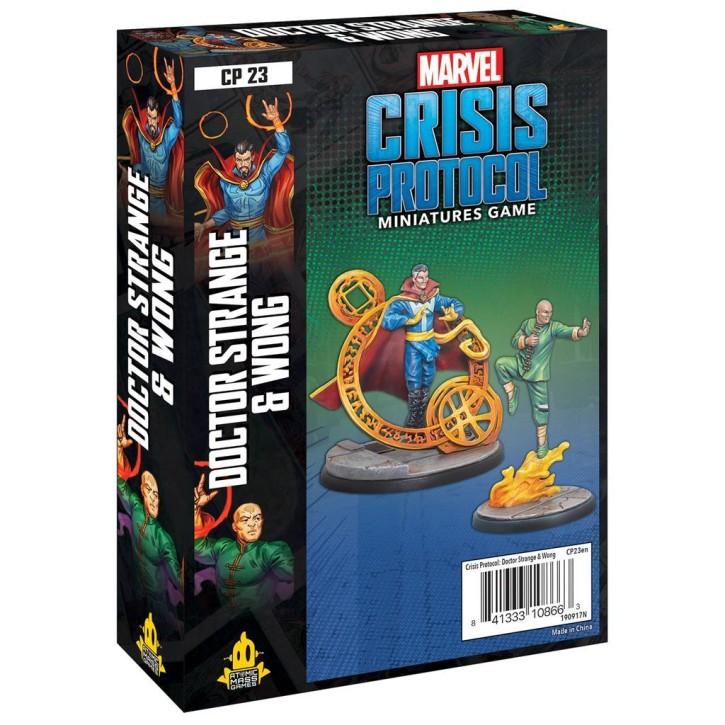 MARVEL CRISIS: Dr. Strange and Wong - EN
