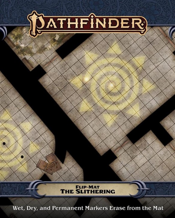 PATHFINDER 2ND: Flip-Mat: The Slithering