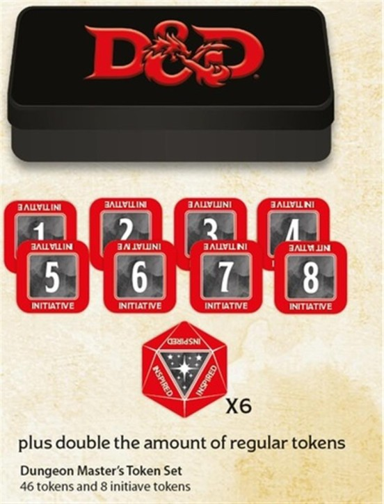 D&D: Dungeon Masters Token Set