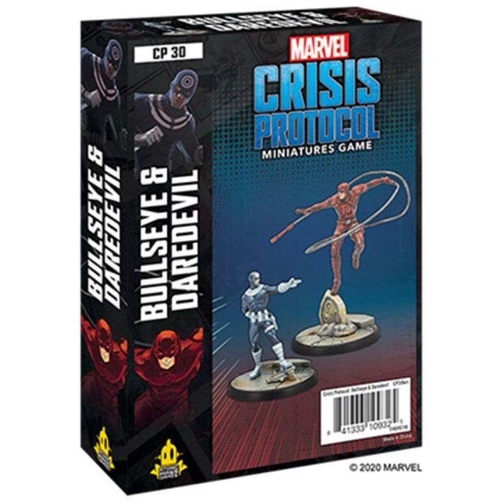 MARVEL CRISIS: Bullseye and Daredevil - EN