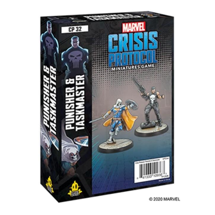 MARVEL CRISIS: Punisher and Taskmaster - EN