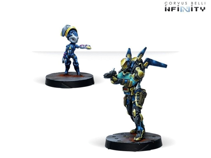 INFINITY: Delta Unit (Doctor, Yudbot-B)