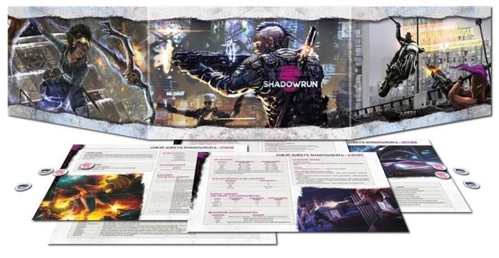 SHADOWRUN 6: Sichtschirmpack - DE