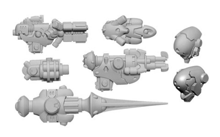 WARCASTER: Firebrand B Weapon Pack