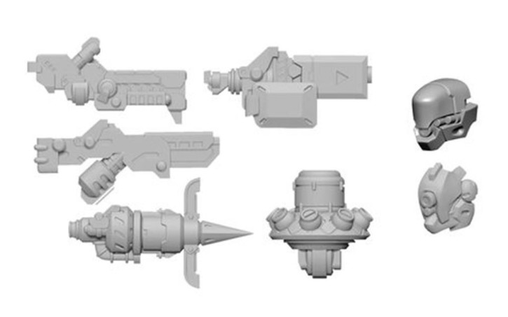 WARCASTER: Dusk Wolf B Weapon Pack