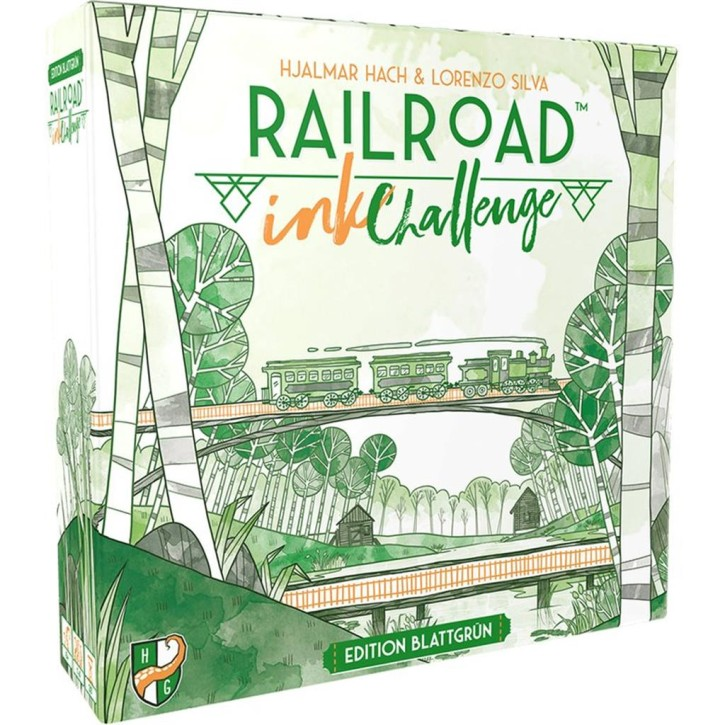 RAILROAD INK CHALLENGE: Edition Blattgrün - DE