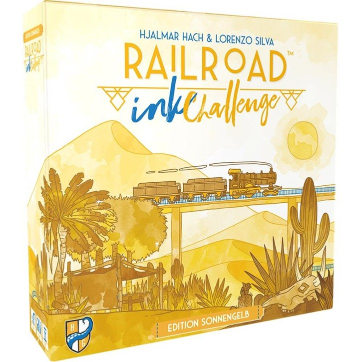 RAILROAD INK CHALLENGE: Edition Sonnengelb - DE