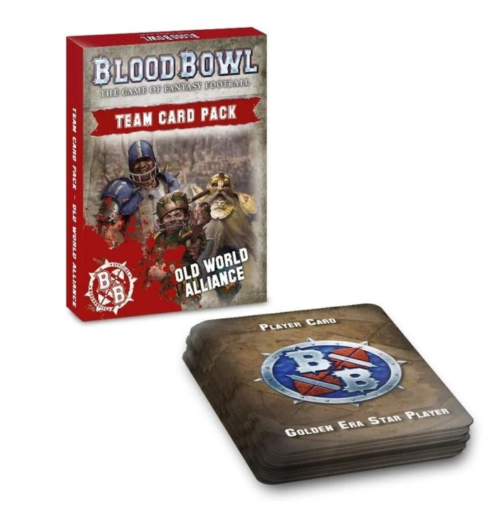 BLOOD BOWL: Old World Alliance Team Card Pack - EN
