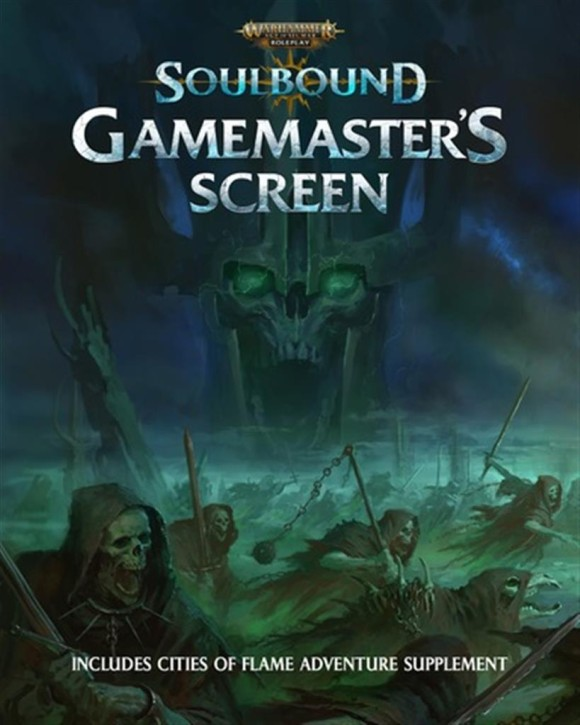 AOS RPG: Gamemasters Screen - EN