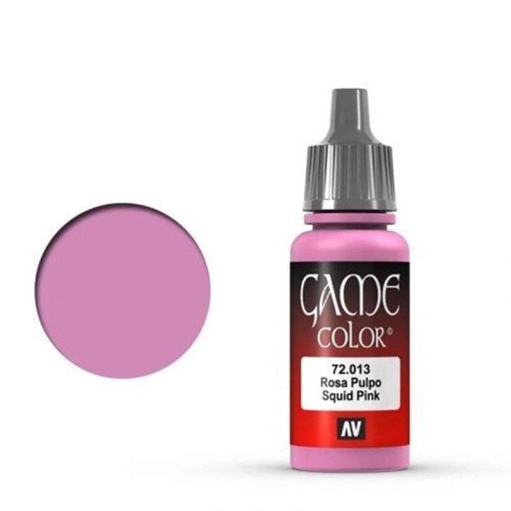VALLEJO GAME COLOR: 013 Tintenfisch Pink 17 ml