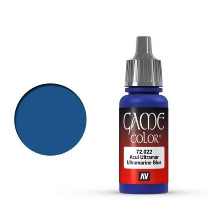 VALLEJO GAME COLOR: 022 Ultramarinblau 17 ml