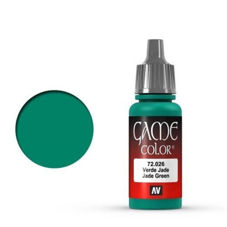 VALLEJO GAME COLOR: 026 Jadegrün 17 ml