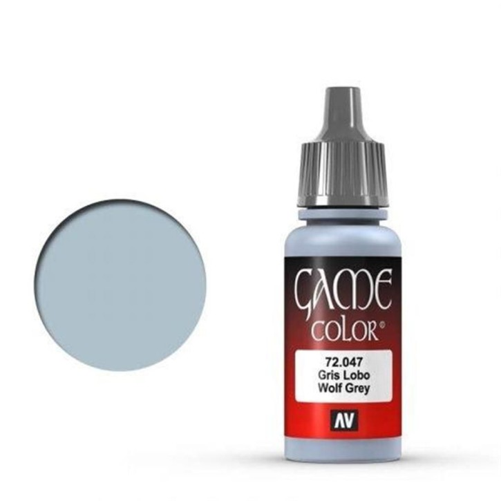 VALLEJO GAME COLOR: 047 Wolf Grey 17 ml