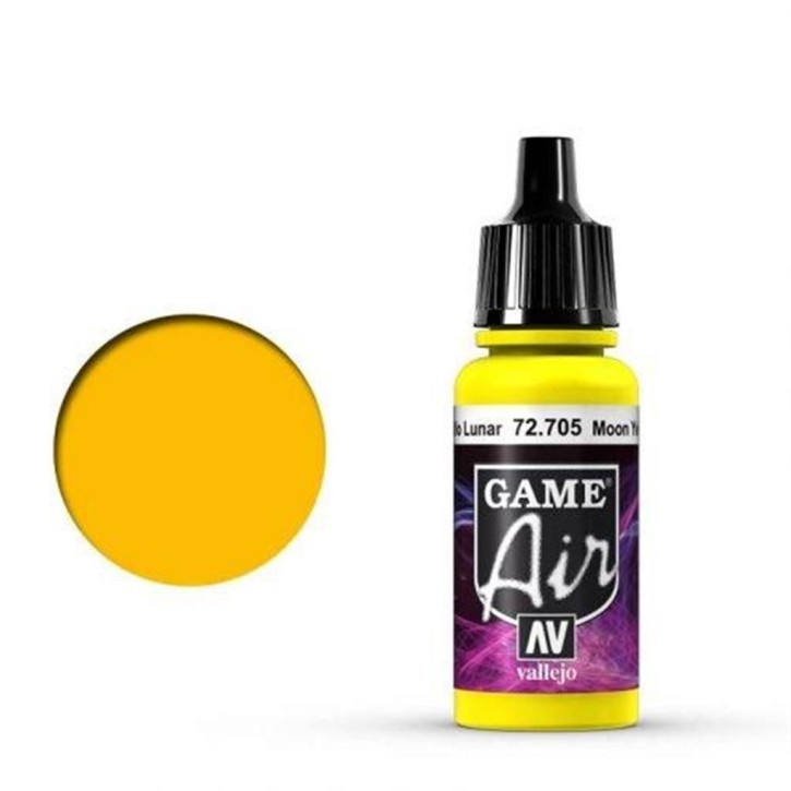 VALLEJO GAME AIR: 705 Moon Yellow 17 ml