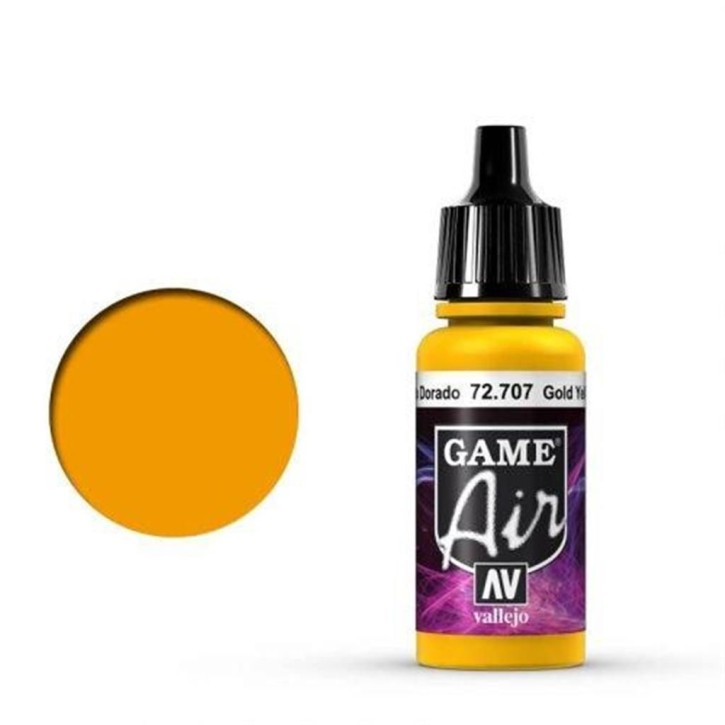 VALLEJO GAME AIR: 707 Gold Yellow 17 ml