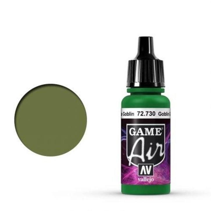 VALLEJO GAME AIR: 730 Goblin Green 17 ml