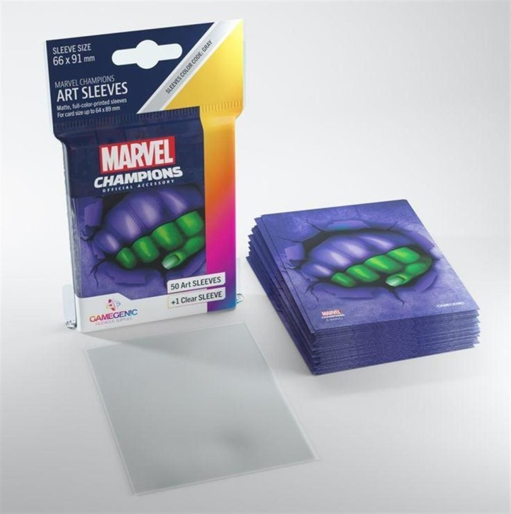 GAMEGENIC: She-Hulk: MARVEL CHAMPIONS Art-Sleeves