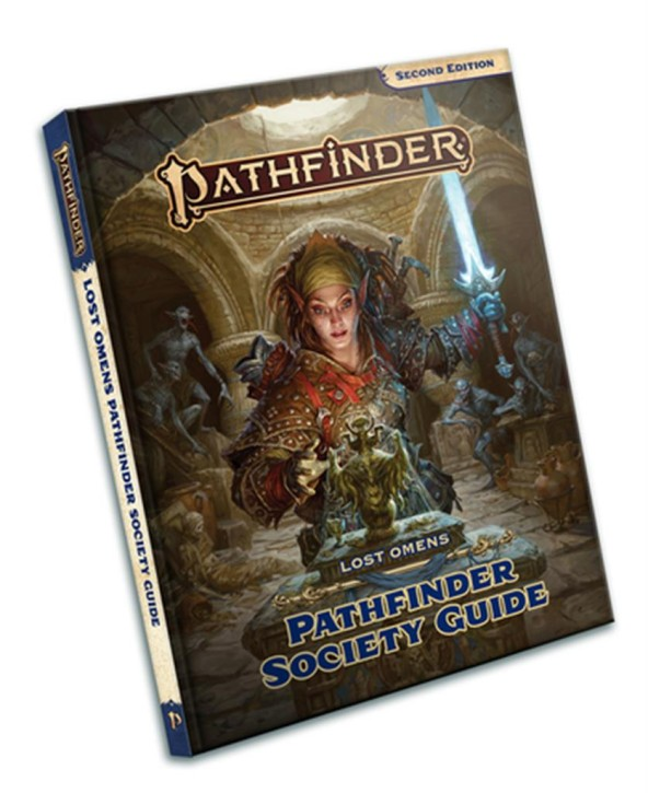 PATHFINDER 2ND: Lost Omens: Pathfinder Society Guide - EN