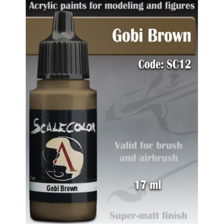 SCALE COLOR: Gobi Brown 17 ml