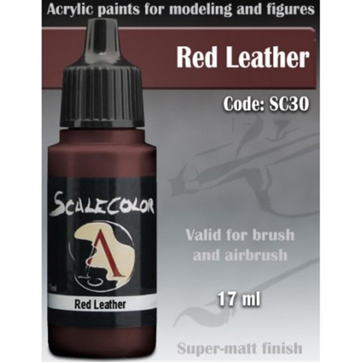 SCALE COLOR: Red Leather 17 ml