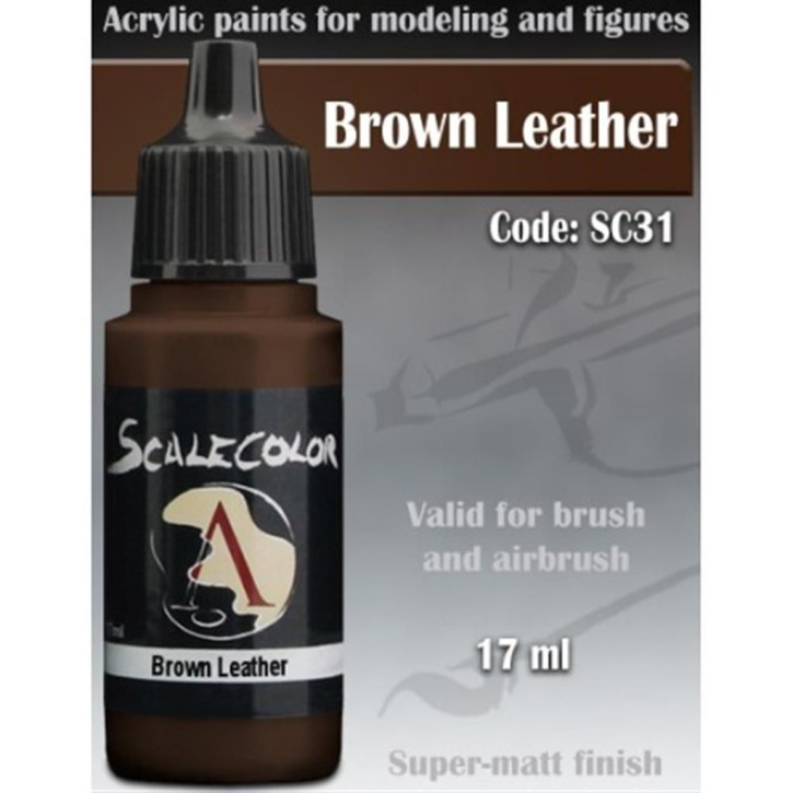 SCALE COLOR: Brown Leather 17 ml