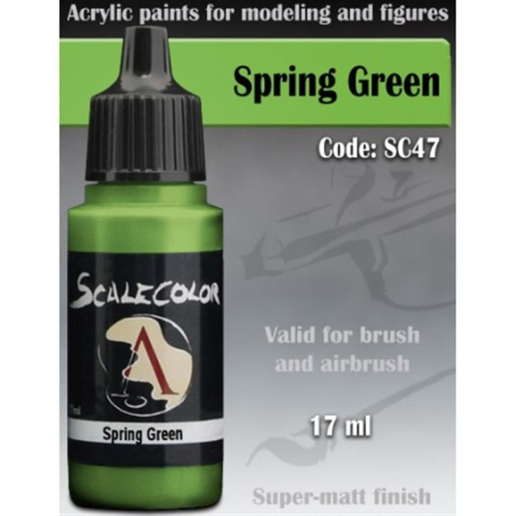 SCALE COLOR: Spring Green 17 ml