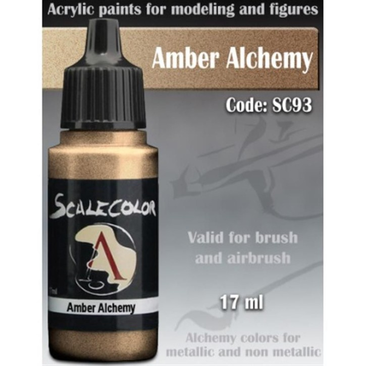 METAL N ALCHEMY: Amber Alchemy 17 ml