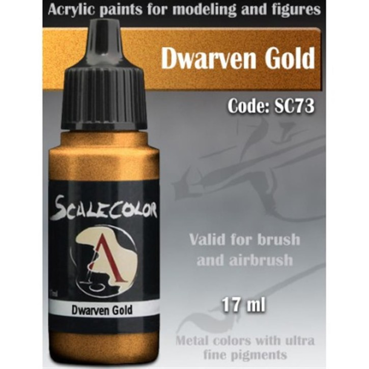 METAL N ALCHEMY: Dwarven Gold 17 ml