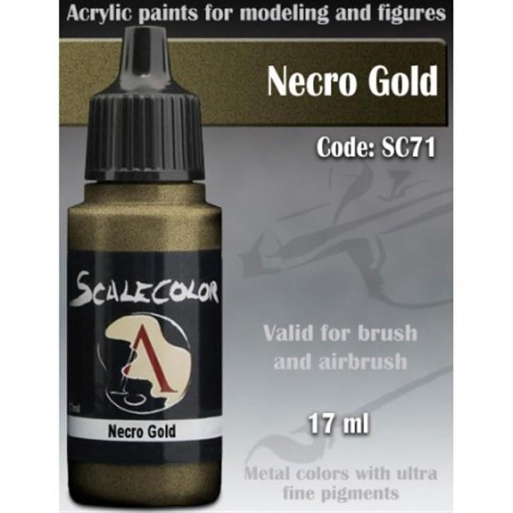 METAL N ALCHEMY: Necro Gold 17 ml