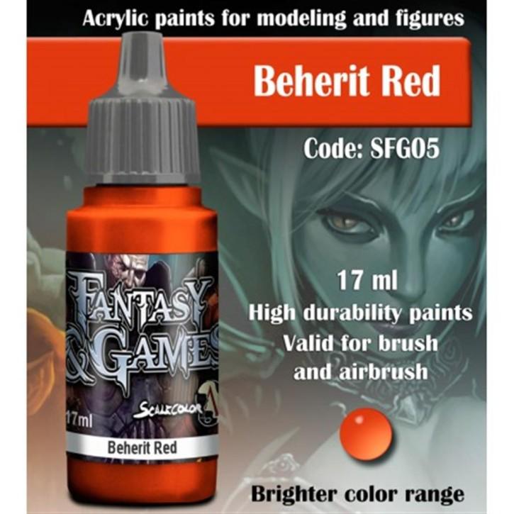 FANTASY & GAMES: Beherit Red 17 ml