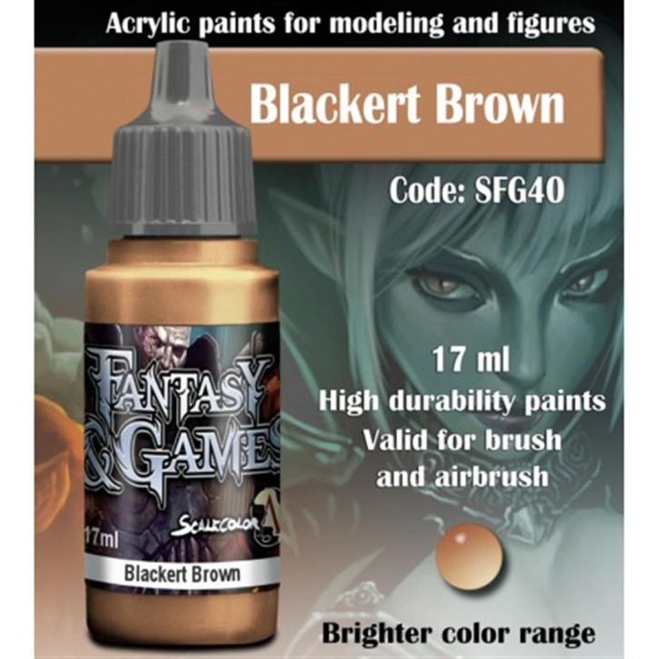 FANTASY & GAMES: Blackert Brown 17 ml