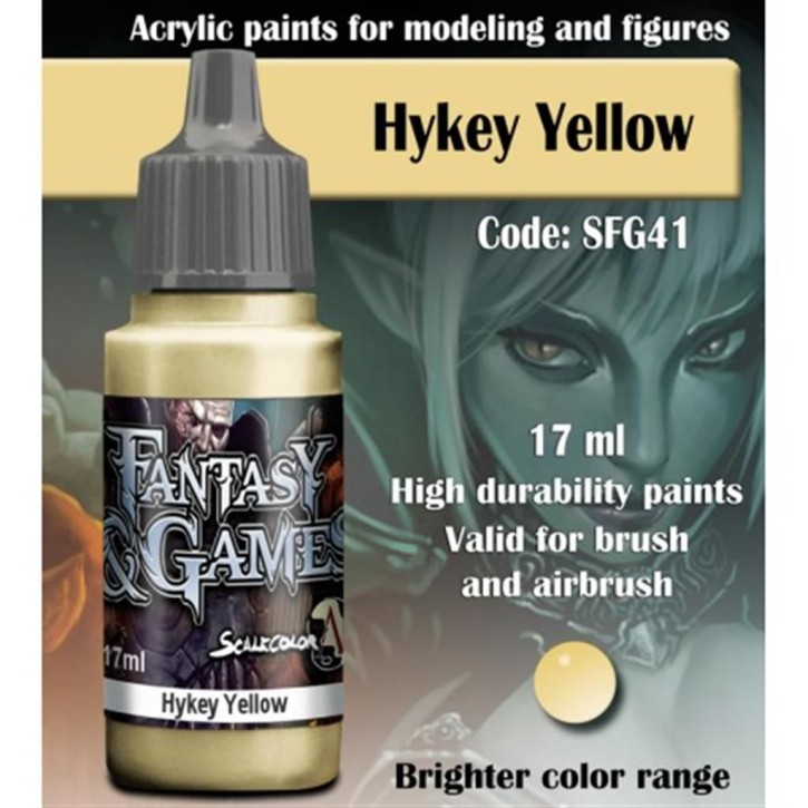 FANTASY & GAMES: Hykey Yellow 17 ml