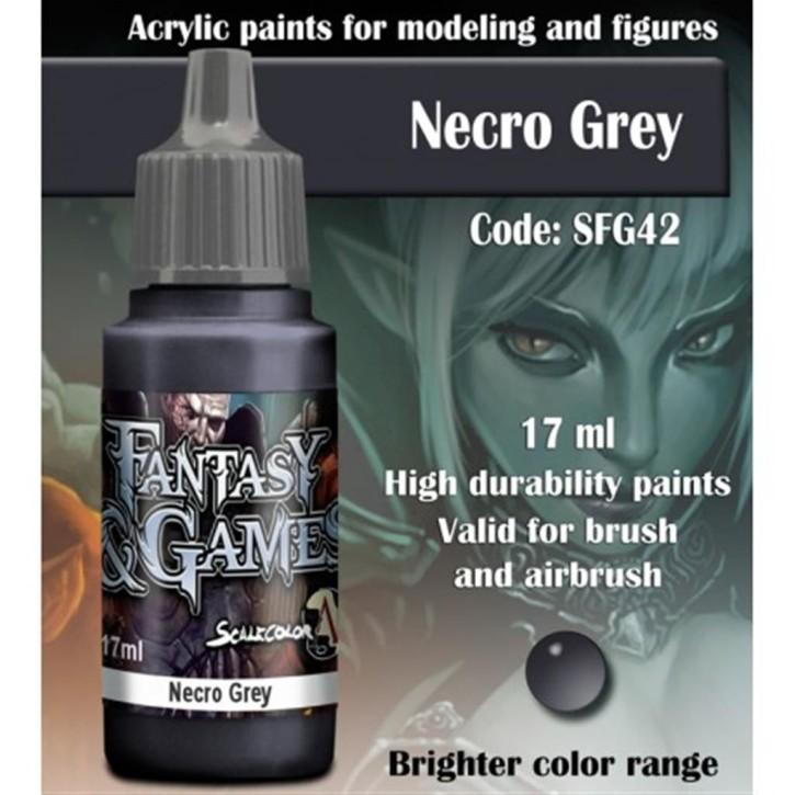 FANTASY & GAMES: Necro Grey 17 ml