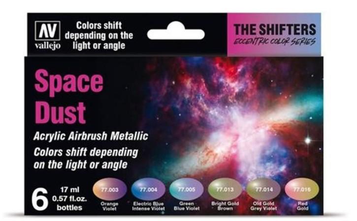 VALLEJO SHIFTERS: Space Dust Set (6x 17ml)