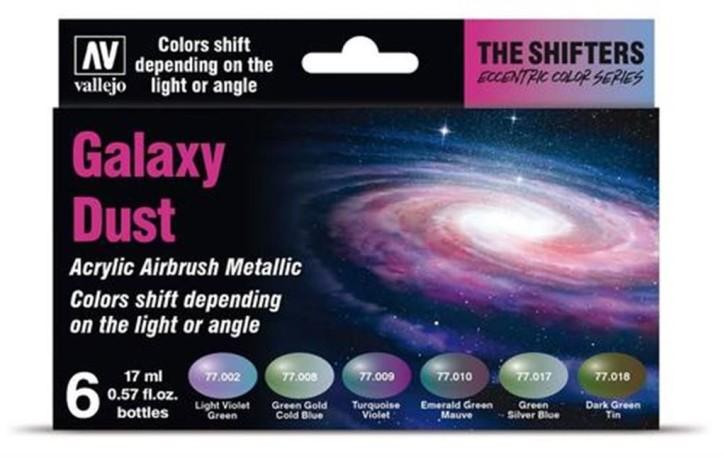 VALLEJO SHIFTERS: Galaxy Dust Set (6x 17ml)