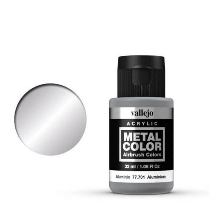VALLEJO METAL COLOR: 701 Aluminium 32 ml