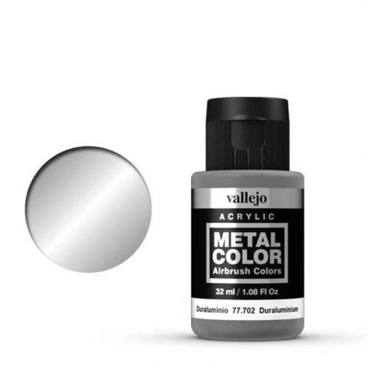 VALLEJO METAL COLOR: 702 Duraluminium 32 ml