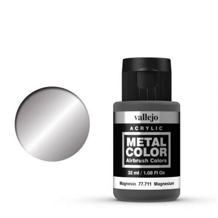VALLEJO METAL COLOR: 711 Magnesium 32 ml