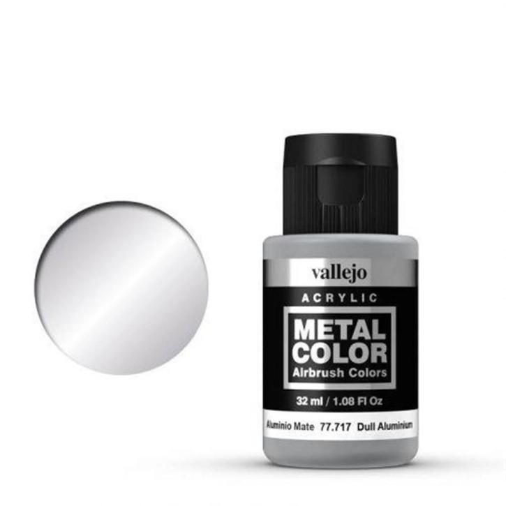 VALLEJO METAL COLOR: 717 Dull Aluminium 32 ml