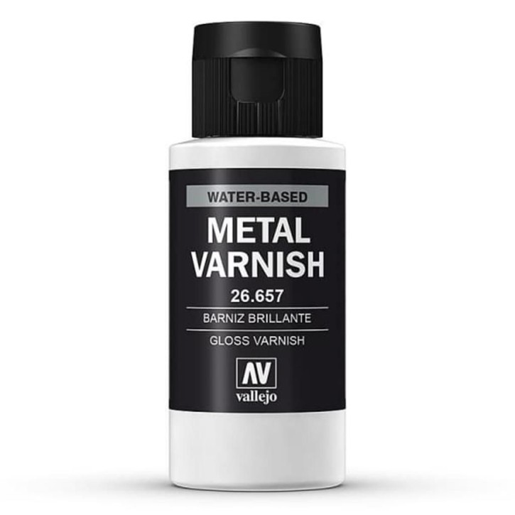 VALLEJO METAL COLOR: Glanzmetalllack 60 ml ML