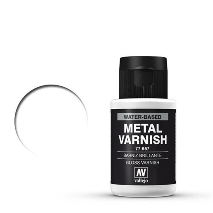 VALLEJO METAL COLOR: Gloss Varnish 32 ml