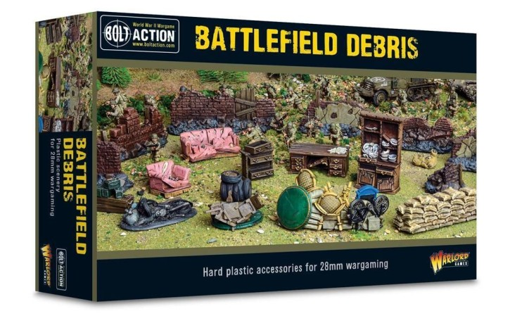 BOLT ACTION: Battlefield Debris