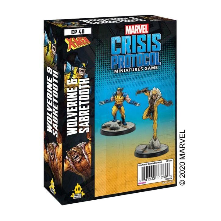 MARVEL CRISIS: Wolverine and Sabretooth - EN