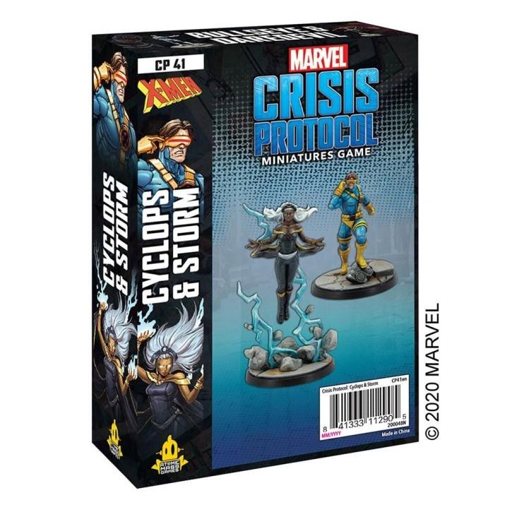 MARVEL CRISIS: Storm and Cyclops - EN